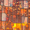 Harpa Sunset - Reykjavik Iceland Abstract Photograph by Duane Miller
