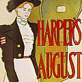 Harpers August 1897 by Edward Penfield