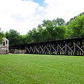 Harpers Ferry Hardware And Railroad by Bill Cannon