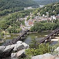 Harpers Ferry Viewed From Maryland Heights by William Kuta