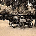 Harpers Ferry Wagon by Bill Cannon