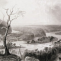Harpers Ferry, West Virginia, From The History Of The United States, Vol. II, By Charles Mackay by William Henry Bartlett