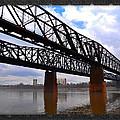 Harrahan Railroad Bridges by Reese Lewis