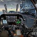 Harrier Cockpit by Paul Fearn