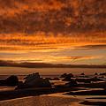 Harris Beach Sunset 1 by Lee Kirchhevel