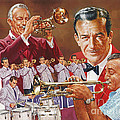 Harry James Trumpet Giant by Dick Bobnick