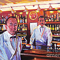 Harry's American Bar by David Lloyd Glover