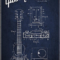Hart Gibson Electrical Musical Instrument Patent Drawing From 19 by Aged Pixel