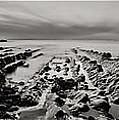Hartland Beach Triptych by Pete Hemington