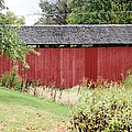 Hartman Covered Bridge Ohio by Wendy Gertz