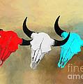 Hart's Camp Buffalo Skulls by G Cannon