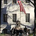 Harvard Statue by Jannis Werner