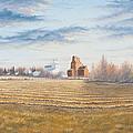 Harvest Sunrise by Dan Reid