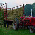 Harvest Time Tractor by Bill Cannon
