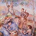 Harvesters Breakfast by Pierre-Auguste Renoir
