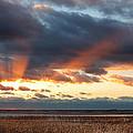 Harvey Beach Sunset by Jonathan Steele