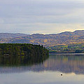 Harveys Point On Lough Eske Panorama by Bill Cannon