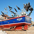 Hastings Fishing Boat by David Fowler