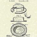 Hat 1879 Patent Art by Prior Art Design