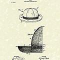 Hat 1903 Patent Art by Prior Art Design