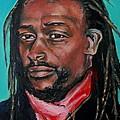 Hat Man - Portrait by Grace Liberator