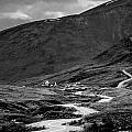 Hatcher's Pass In Black And White by Andrew Matwijec