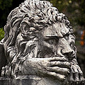 Neptune Stairs Lion by Greg Reed