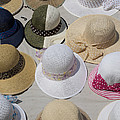 Hats For Sale Next To Marina, Lerici by Panoramic Images