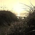 Hatteras Island Sunrise 12 8/28 by Mark Lemmon