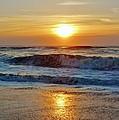 Hatteras Island Sunrise 9 8/28 by Mark Lemmon