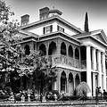 Haunted Mansion New Orleans Disneyland Bw by Thomas Woolworth