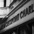 haus am checkpoint charlie museum Berlin Germany by Joe Fox