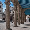 Havana Cathedral And Porches. Cuba by Juan Carlos Ferro Duque