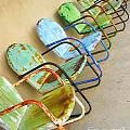 Have A Seat Rusty Chairs by Shari Warren