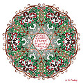Have Yourself A Faery Little Christmas by Celtic Artist Angela Dawn MacKay