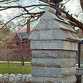 Haverford College Entrance by Kay Pickens