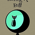 Having A Ball In Aqua by Donna Mibus