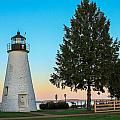 Concord Point Light ... Havre De Grace Md by Sharon Horn