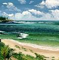 Hawaii Beach by Jamie Frier