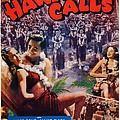 Hawaii Calls, Us Poster Art, Ned by Everett