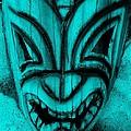 Hawaiian Aquamarine Mask by Rob Hans