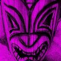 Hawaiian Purple Mask by Rob Hans