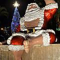 Hawaiian Santa by Aloha Art