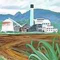 Hawaiian Sugar Mill by Frank Hunter