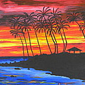 Hawaiian Sunset by Eric Johansen