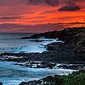 Hawaiian Sunset by Harry Spitz