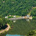 Hawks Nest Dam by Mary Almond
