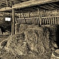 Hay Barn by Bob Geary