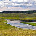 Hayden Valley In Yellowstone National Park-wyoming by Ruth Hager