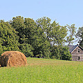 Haying Season At Captain Ed's Homestead by Penny Meyers